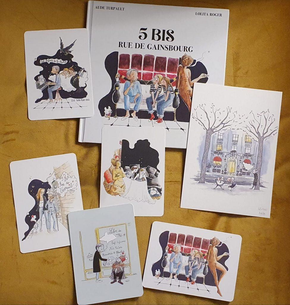 Livre 5 bis rue de Gainsbourg